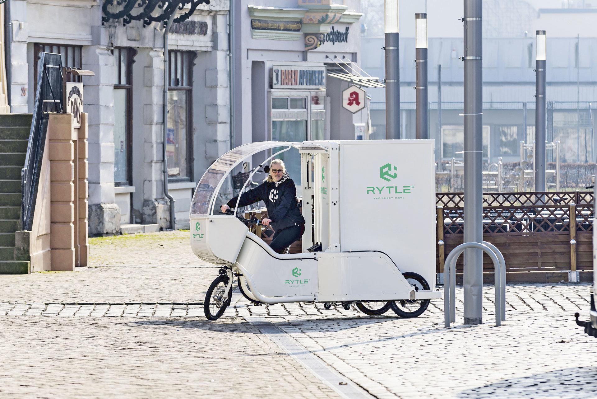 GVZ Bremen macht Elektro-Mobil