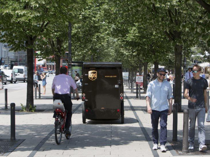 Optimierte Routen für E‑Cargobikes