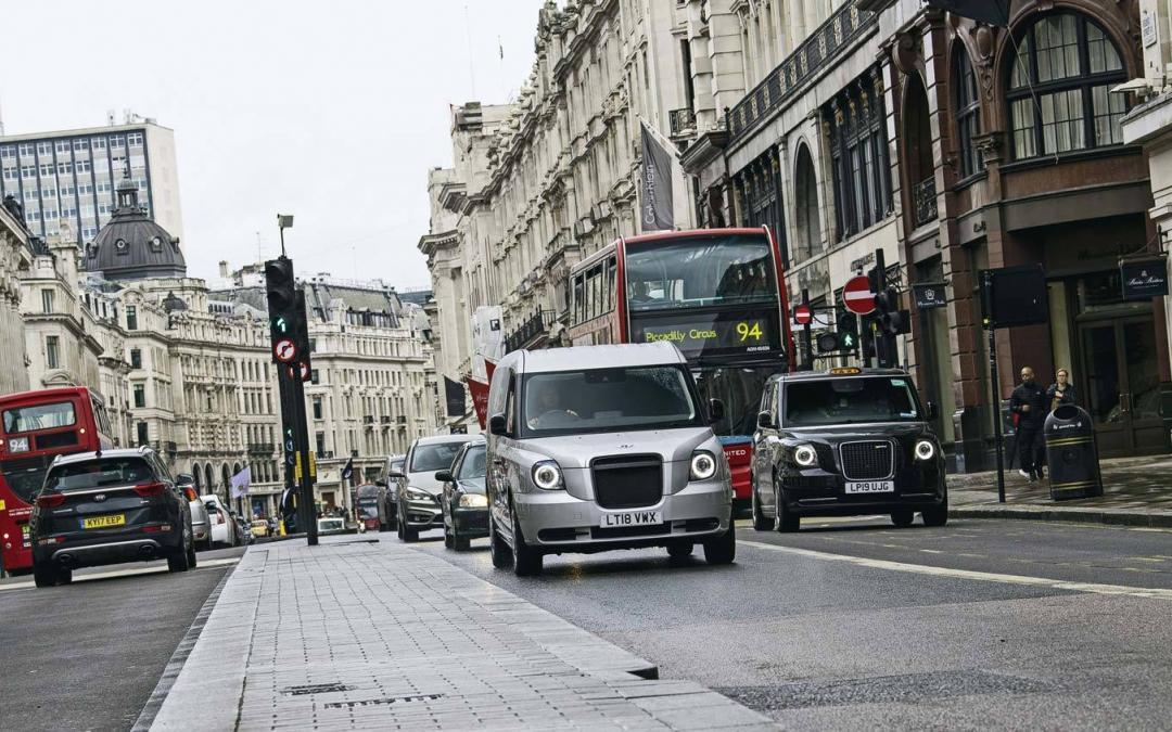 Bewegung auf Londons Letzter Meile
